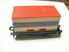 "Special Limited Edition Matchbox Flat Car Container ""Matchbox Superfast"" Lesney - http://www.matchbox-lesney.com/34274"