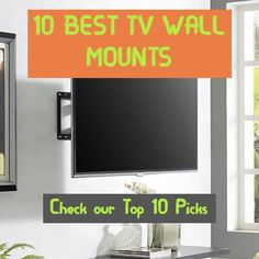 Finding the best TV wall mount is a complicated job today. Best Tv Wall Mount, Tv Wall Mount Bracket, Wall Mounted Tv, Tv Set Up, Hide Tv Cables, Tv Set Design, Hidden Tv, Remodels And Restorations, Shopping