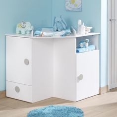 Altering desk dresser for child in 20 images ~ Kids room Wall Mounted Changing Table, Baby Changing Unit, Changing Table Dresser, Dresser Desk, Hazelwood Home, Children Images, Baby Room, Storage Chest