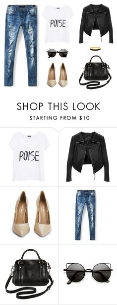 """Untitled #707"" by patrisha175 ❤ liked on Polyvore featuring MANGO, Linea Pelle, Kurt Geiger, Merona and Halcyon Days"