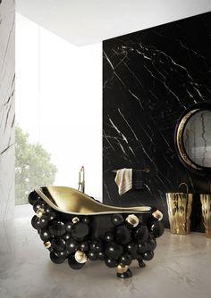 Black Bathroom Desig