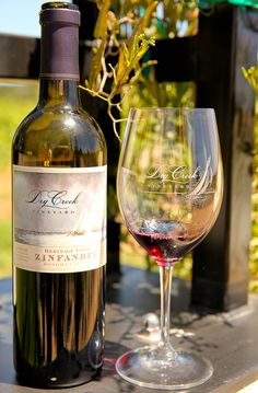 Sipping Heritage Vines Zinfandel while touring Dry Creek Vineyard in Sonoma.