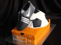 Soccer Jordans Sneakers, Air Jordans, Adidas Sneakers, Soccer Cakes, Football Cakes, Shoes, Pies, Zapatos, Football Cupcake Cakes