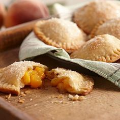 Hand-held fruit pies are the latest dessert craze. These mini versions of the traditional pie come in a variety of shapes and feature a flaky crust...