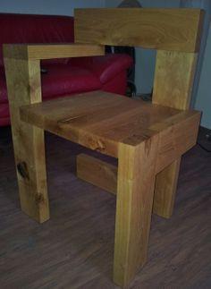 'Steldman' van Rietveld ... 22.5 kilo eikenhout ... Van eigen hand ... maker .. ik dus ... !