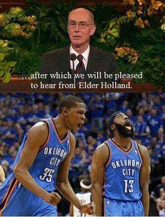 Fab 5: #Mormon Humor! Funny Mormon Memes, Funny Nba Memes, Funny Basketball Memes, Sport Basketball, Lds Memes, Basketball Players, Funny Quotes, Football Memes, Golf Quotes