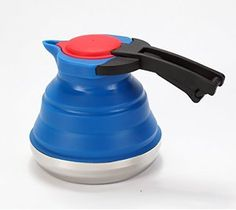 Irish Tea While Camping! Yes! LevelOne Collapsible Silicone Outdoor Camping Kettle
