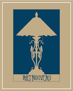 Art Nouveau poster by balancedpersonality