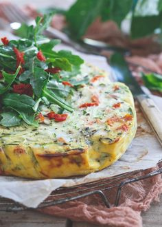 A Summer Frittata that's made right in the slow cooker!
