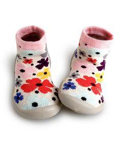 Collegien Slipper Socks Garden Party colorful flowers