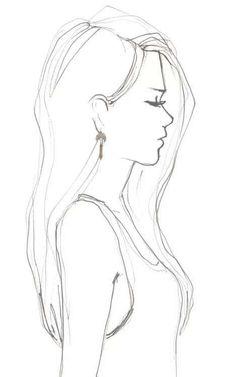 Sketch eyes cool drawing idea - girl drawing easy drawing в Easy Pencil Drawings, Cute Drawings, Cartoon Drawings Of Girls, Easy Drawings Of Girls, Drawings Of Eyes Easy, Sketches Of Cartoons, Easy Cartoon Sketches, Funny Sketches, Simple Sketches