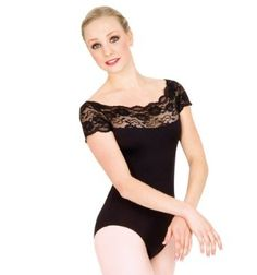 Short Sleeve Leotard, love this! I want it in white!!