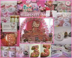 Party favor ideas for Hello Kitty