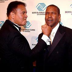 Muhammad Ali and Denzel Washington