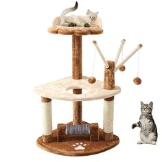 Finnkare Super Value Cat Tree Tower Condo Furniture House Post Shelves Structures Home Activity Play Game Center Station Toy Rack Jump Playplace Pad For Climbing Scratching Sleep Bed New On Sale -- Want to know more, click on the image. (This is an affiliate link) #CatTree