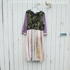 small  large  / Upcycled clothing / Funky Tshirt by CreoleSha, $107.99