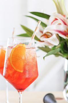 Lingonberry Aperol Spritz
