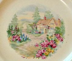 Vintage Homer Laughlin Dinner Plate