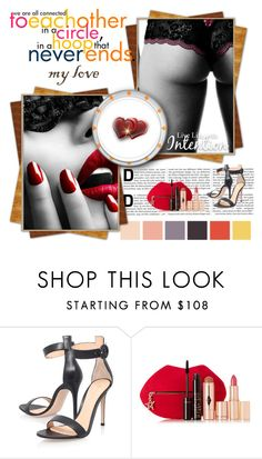 """inspiration"" by smile2528 ❤ liked on Polyvore featuring Gianvito Rossi and Charlotte Tilbury"