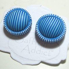 scrap earrings   by Saffron Addict