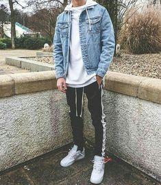 Acessórios masculinos, atualmente o uso de acessórios tem feito parte de muitos looks de homens vaidosos que gostam de sempre andar no estilo. Os acessórios são uma parte essencial para compor um look masculino. Mens Fall Outfits, Cool Outfits For Men, Stylish Mens Outfits, Guy Summer Outfits, Casual Guy Outfits, Outfits For Teenage Guys, Autumn Outfits, Simple Outfits, Street Casual Men