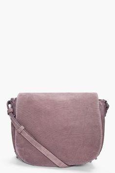 alexander wang pink velvet messenger bag | curated by ajaedmond.com/