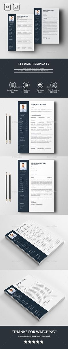 Resume  Creative Professional Resume And Modern Resume Template