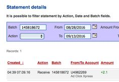 ACX is the MOST POWERFUL & SIMPLEST PROGRAM ONLINE! New 30/70 Rule GUARANTEES... Here is my Withdrawal Proof from AdClickXpress. I get paid daily and I can withdraw daily. Online income is possible with ACX, who is definitely paying - no scam here.I WORK FROM HOME less than 10 minutes and I manage to cover my LOW SALARY INCOME.https://plus.google.com/photos/photo/102794266198211589871/6329442813628136354?icm=false&authkey=CISB_ZzEpqSwVw