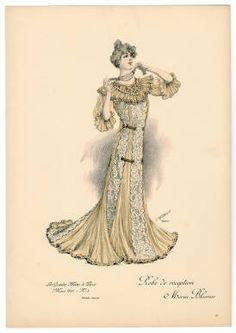 1900-1902, Plate 002 :: Costume Institute Fashion Plates