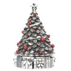 Reed and Barton Revolving Musical Christmas Tree