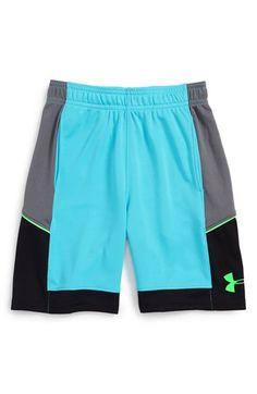Under Armour 'Baseline' HeatGear® Shorts (Little Boys)