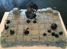 Dungeons & Dragons cake D&D