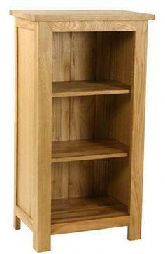 Essentials Oak Mini Bookcase 114 70