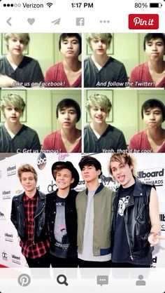From humble roots to where they are now. Major changes, and Calum's command was followed.