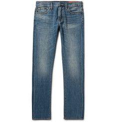 Jean Shop - Jim Slim-Fit Selvedge Denim Jeans
