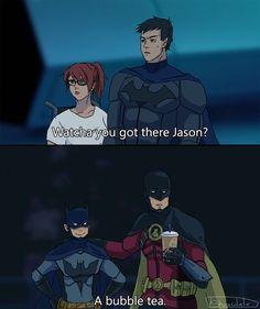 Batman Comic Art, Batman And Superman, Batman Robin, Comic Book Heroes, Marvel Dc Comics, Jason Todd Batman, Different Art Styles, Dc Memes, Batman Family