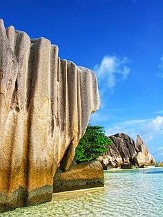 Ever since I was a little girl I have been dreaming of this place. Saw a photo in a National Geographic book my grandfather gave me. La Digue Island, Seychelles