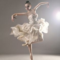 Love the movement of the skirt
