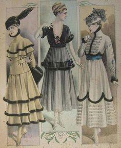 *1915 fashion plate:  The Barrington House