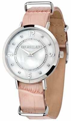 Morellato Womens Versilia Pink Leather Watch R0151133508