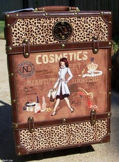 Nicole Lee Vintage Suitcase