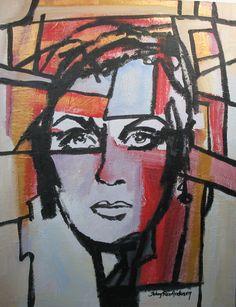 Norway Woman 70x90cm Johnny Røn Andersen Norway, Woman, Painting, Art, Kunst, Art Background, Painting Art, Women, Paintings