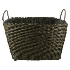 Brown Wicker Storage Basket with Handles | Shop Hobby Lobby
