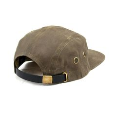Waxed 5 Panel Cap Tan by Victor Axe + Tool