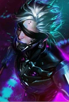 Raiden.. I'm using this as my phone wallpaper