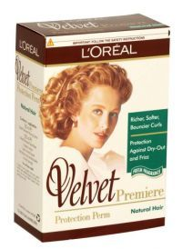 £4.99- Loreal Velvet Premier Perm For Natural Hair   Love this product, its great for fine, soft and gentle curls. There is never a frizz or a poodle look!!