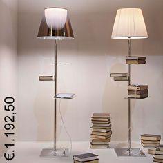 Novità 2013, Architetto Philippe Starck per FLOS BIBLIOTEQUE NATIONALE Acquista su www.venditalampade.com