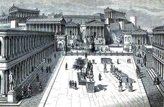 Foi o centro de toda actividade política na República romana. O senado reuníase na Curia, que era parte do Comitium, e os cónsules e outros maxistrados falábanlle ó pobo dende o Rostra, a tribuna dos oradores. Case nada dos restos do Comitium son visibles no Foro hoxe. O seu emprazamento era o espacio aberto entre o arco de Septimio Severo e a Curia, pero a maioría dos monumentos foron demolidos cando no s. I a.C. cando Xulio César e Augusto reorganizaron todo o Foro.