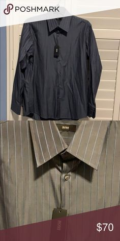 74c05a3bf Hugo Boss Button Down Dress Shirt This shirt is brand new with tags & never  has