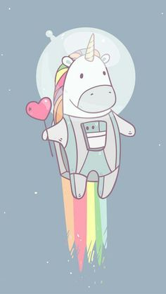 Soooooo cute kawaii unicorn ❤❤❤❤